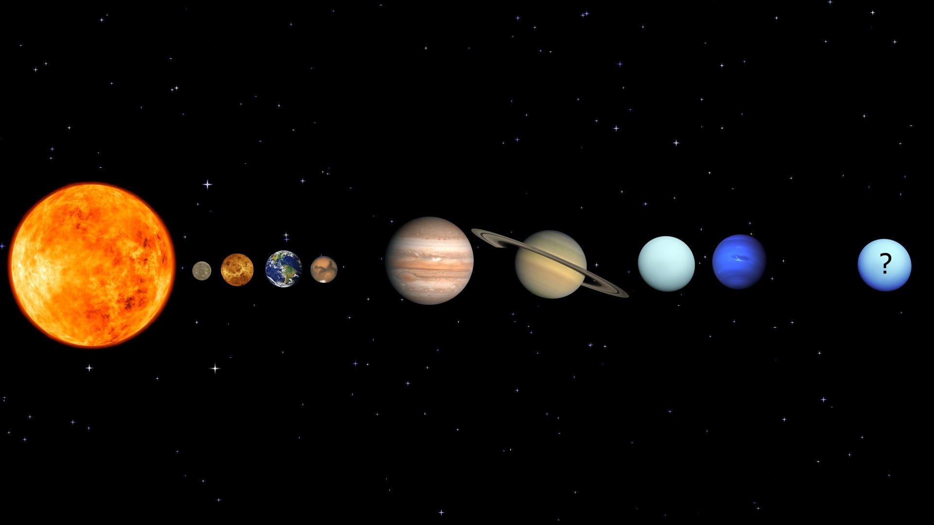 the nine planets - HD1920×1080