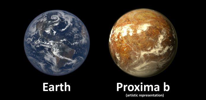 Proxima B: la sua atmosfera è troppo debole