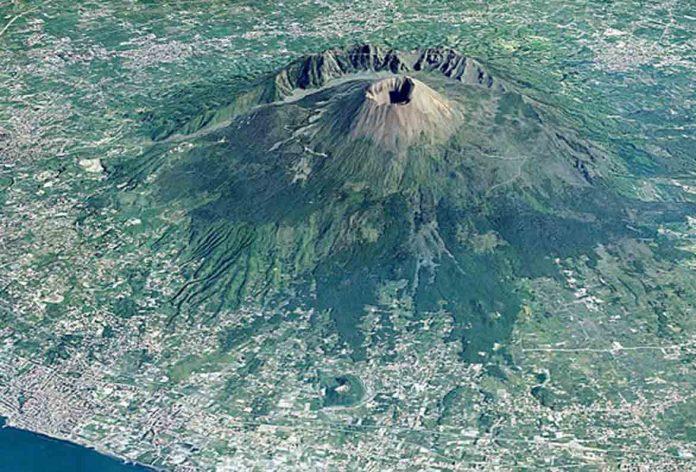 Ischia, il Vesuvio e i Campi Flegrei