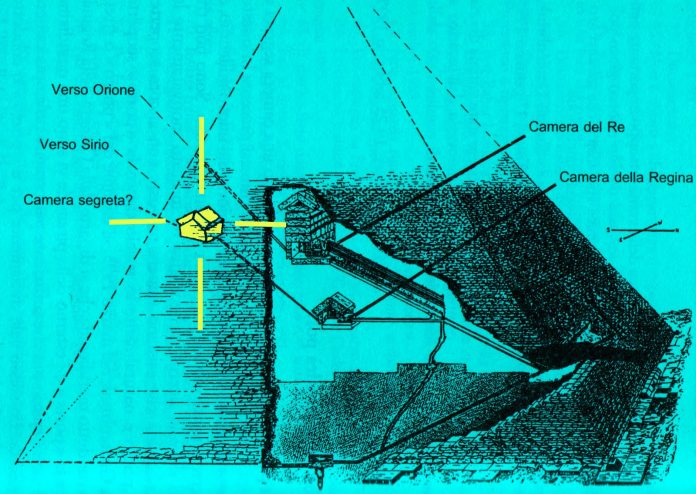 Piramide di Cheope: vicini alla scoperta della camera segreta