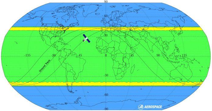 Tiangong-1 cadrà tra Pasqua e pasquetta