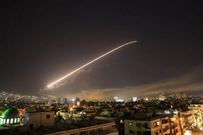 Nuovo attacco missilistico sulla Siria questa notte