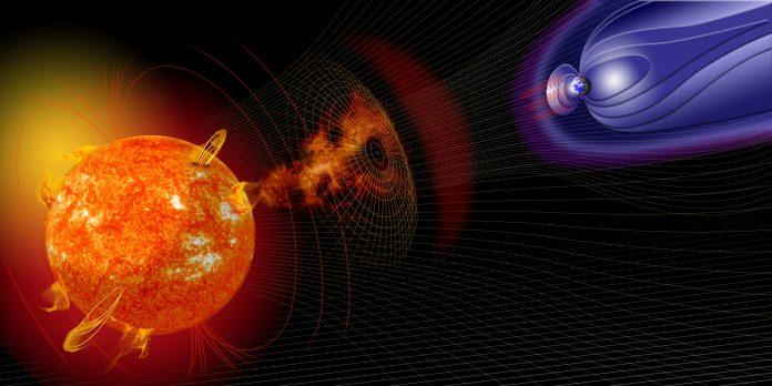 Portali magnetici collegano il Sole e la Terra