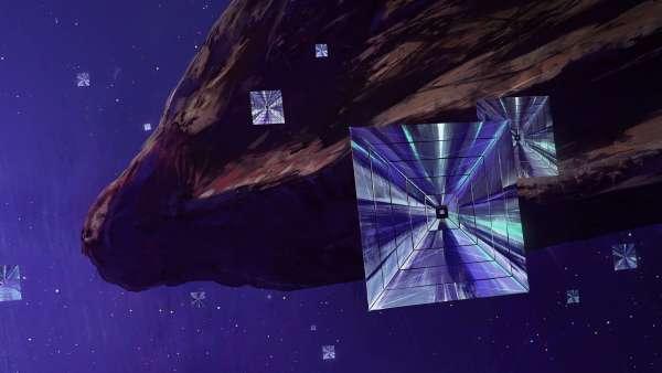 oumuamua extraterrestre vela solare