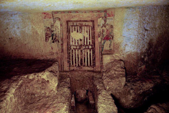 Tomba dei Caronti a Tarquinia: arte inspiegabile