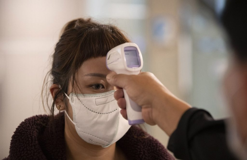 Pandemia coronavirus covid-19 mascherine apocalisse